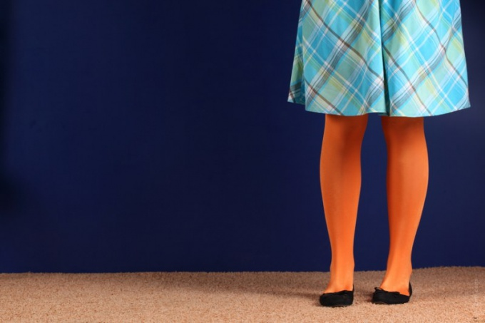 How to sew a skirt with gussets