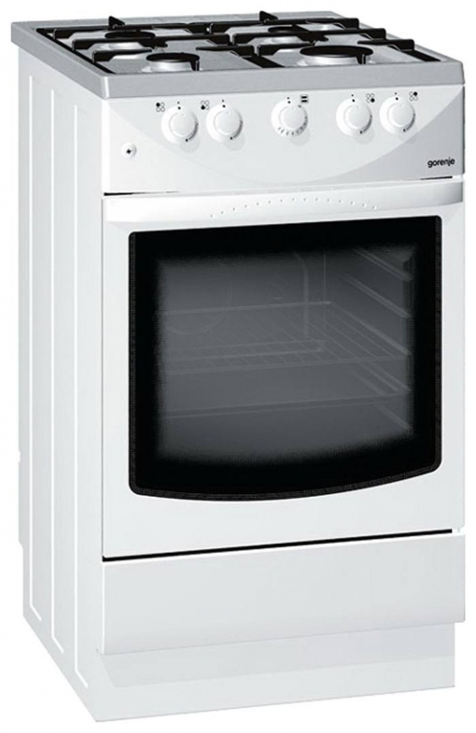 How to connect the gas panel and the oven