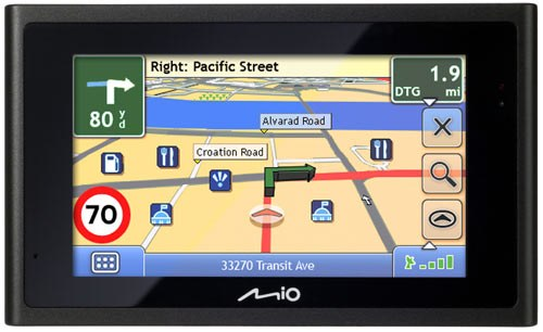 How to install the software on a GPS Navigator