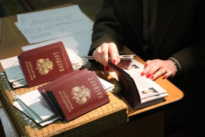Как зарегистрировать человека в Москве