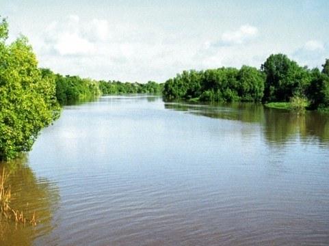 Как обнаружить уклон реки
