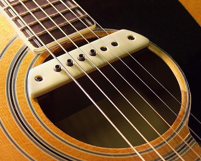 Как установить звукосниматель на гитару