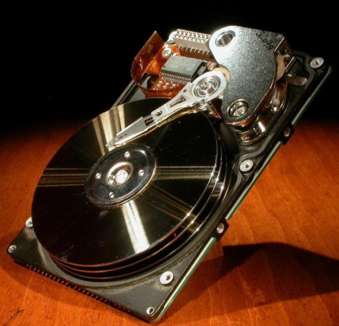 Как сжать жесткий диск