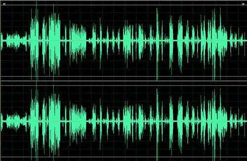 Как выделить звуковую тропинку