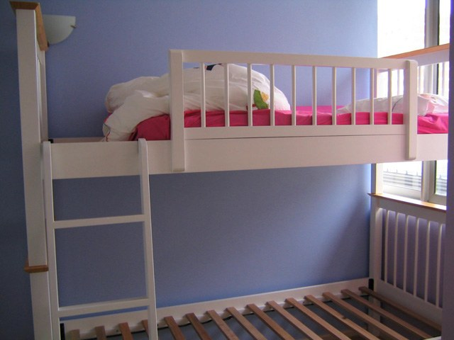 How to build a bunk bed