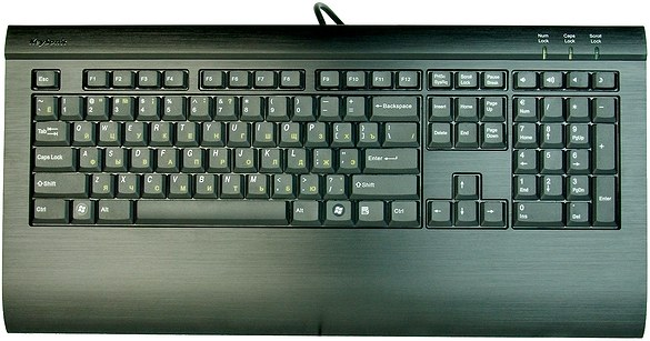 How to restore the keyboard layout