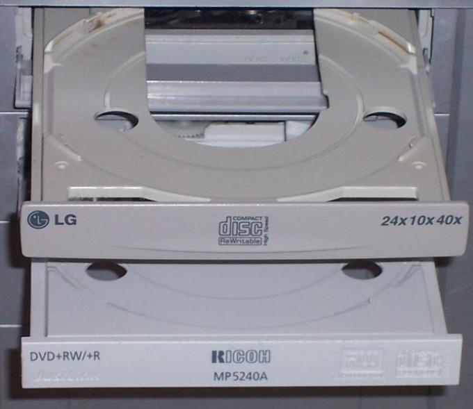 Как смонтировать CD-Rom