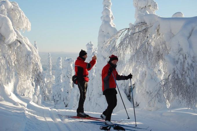 Как собирать крепления на лыжи