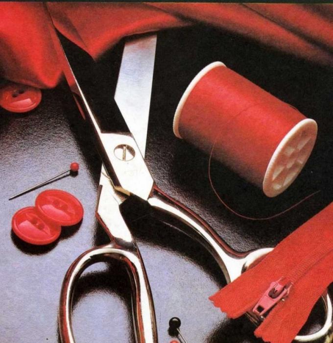 Как научиться шить вещи