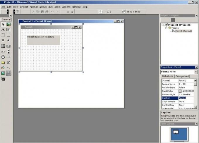 Как создать проект visual basic