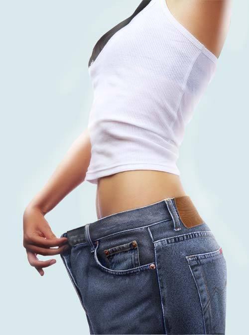 как убрать жир с передней части бедра