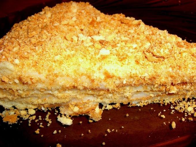 Рецепты слоеных тортов в домашних условиях с фото пошагово