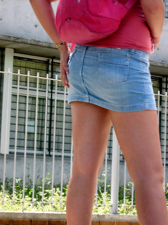 Как возвести выкройку прямой юбки