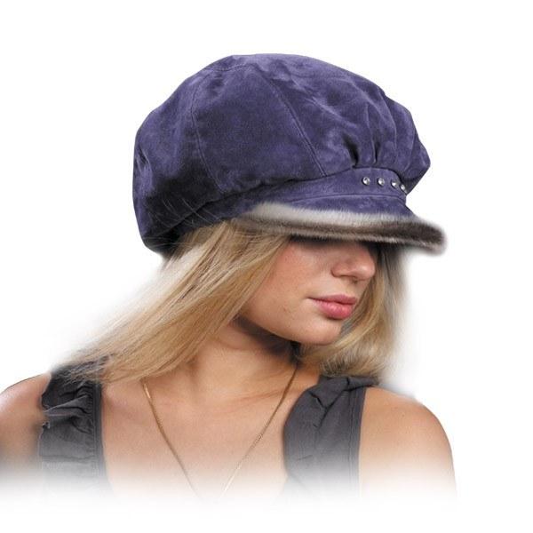 Как почистить замшевую шапку