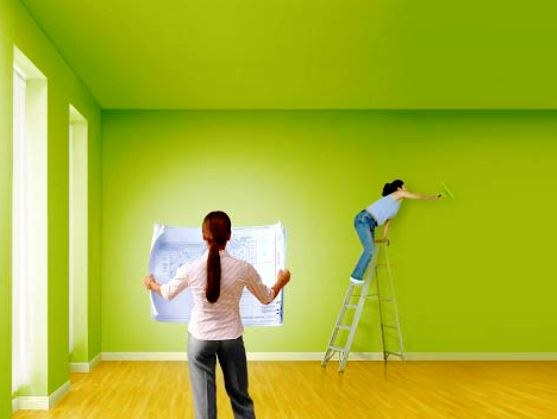 How to combine the color of the walls