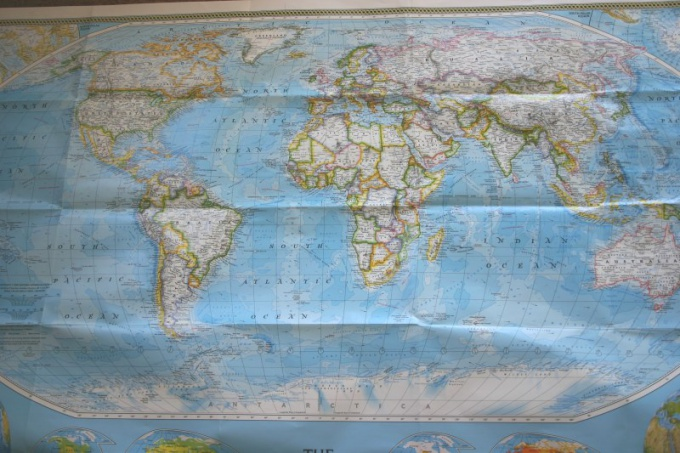 How to learn the map of the world