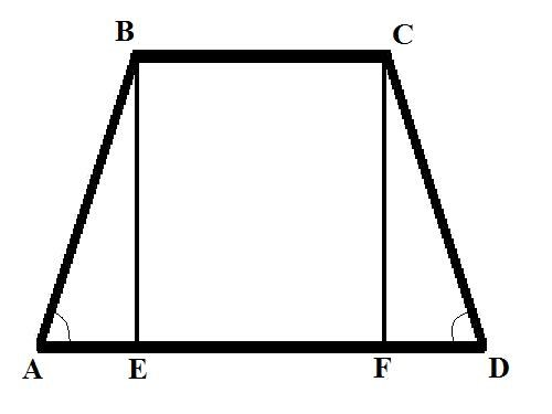 How to find side of a trapezoid if you know the base