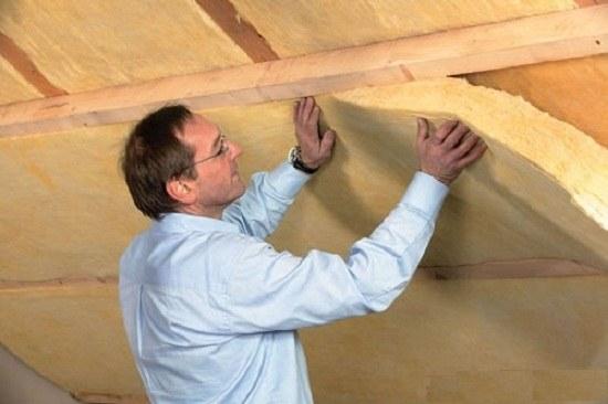 Как утеплить крышу в гараже