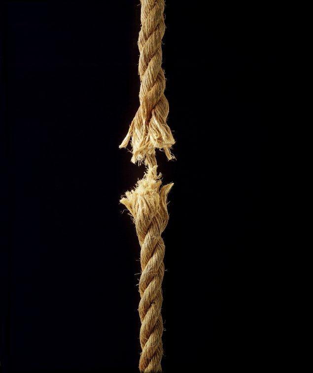Как порвать верёвку