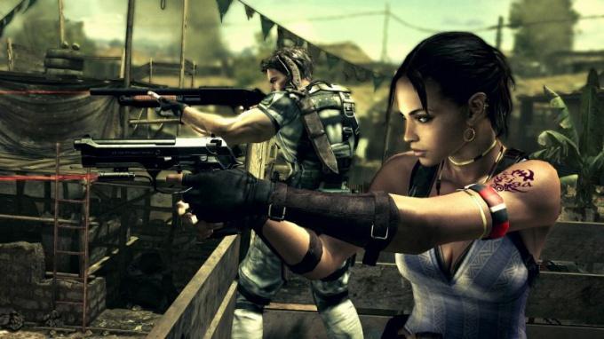 Как сохранить Resident Evil 5