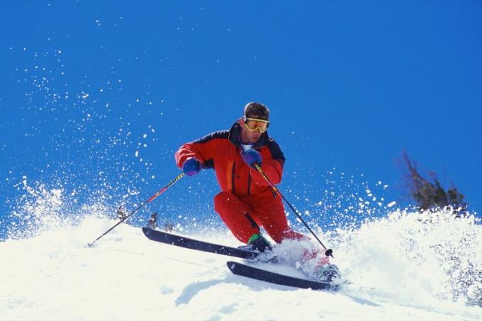 Как хранить пластиковые лыжи