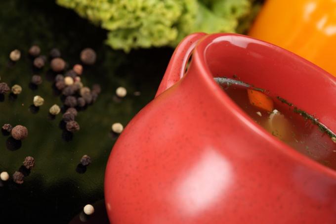 Как варить перловый суп