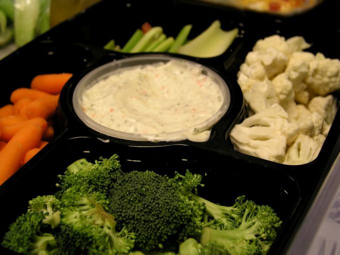 Как приготовить соус к овощам