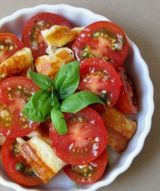 """Как приготовить закуску """"помидоры по-средиземноморски"""""""