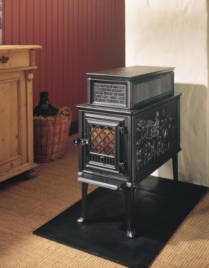 Как установить печь