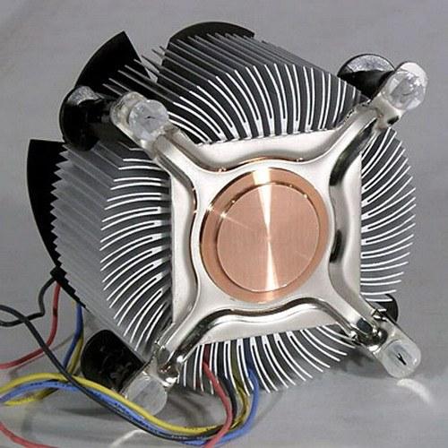 Как установить вентилятор на процессор
