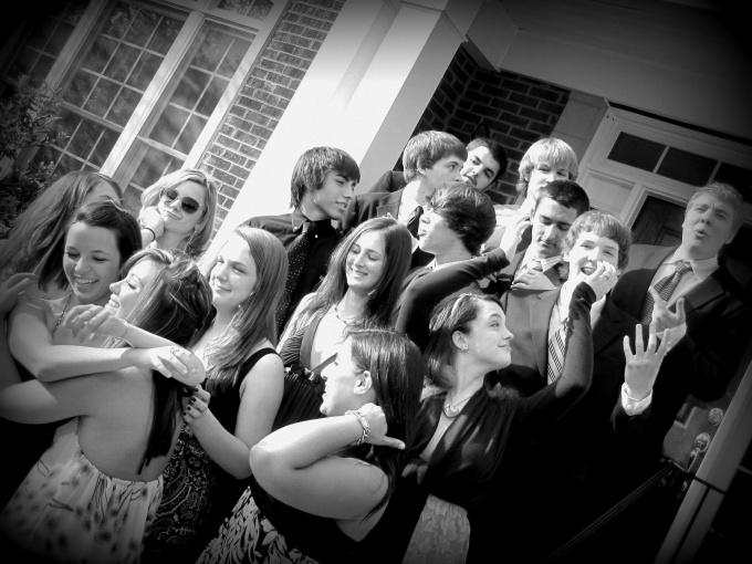 Как фотографировать группу людей