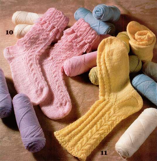 Как вязать носки