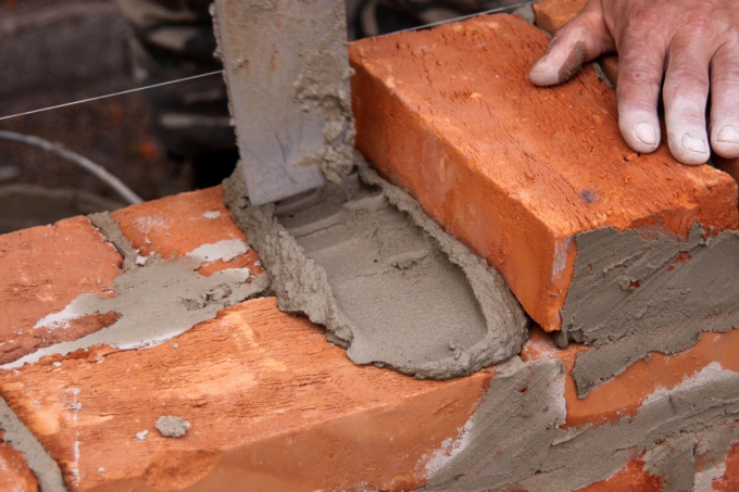How to make mortar for bricklaying