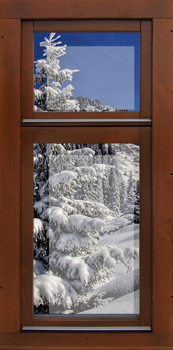 Как утеплять деревянные окна
