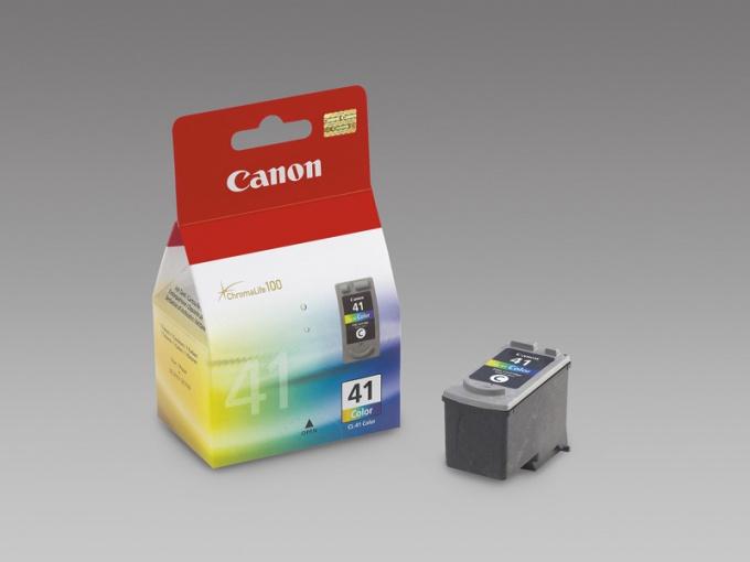 Как заправить картридж Canon cl-41