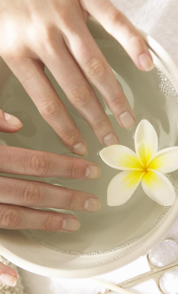 Как делать ванночки для рук