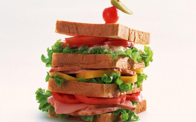 Как подавать бутерброды