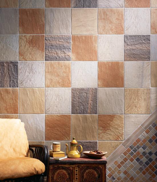 How to cover up the seams of the tiles