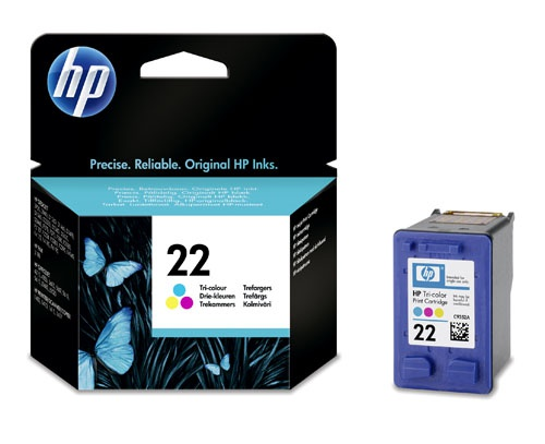 How to refill color cartridge hp 22
