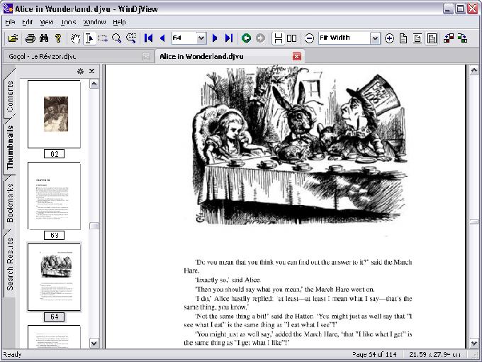 Как смотреть файл djvu