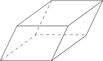 How to find the lateral surface area of a parallelepiped