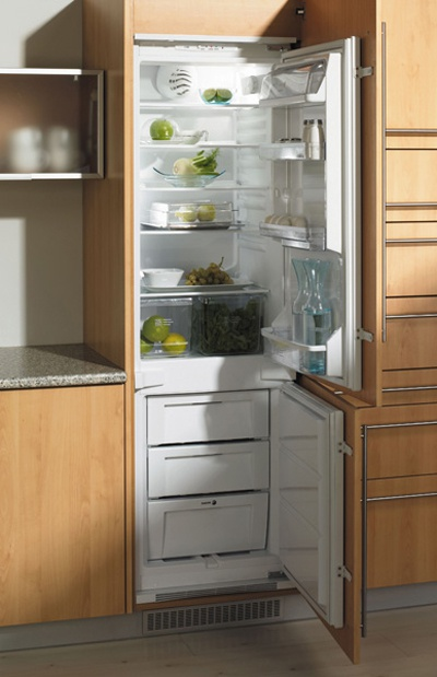 How to make refrigerator built-in