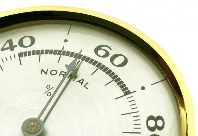 Как измерить влажность в помещении