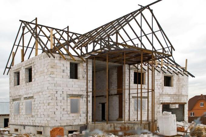 Как оформить постройку