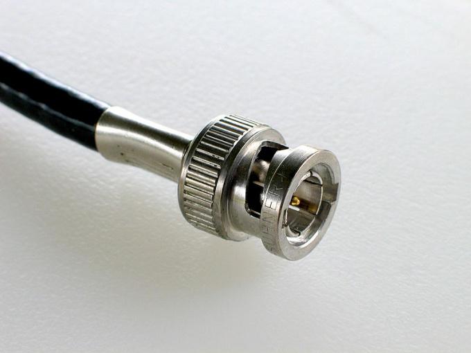Как обжать коаксиальный кабель