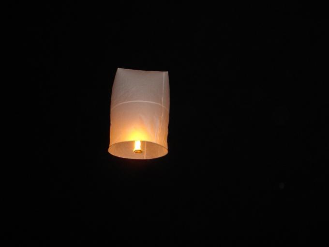 Как сделать фонарь из бумаги