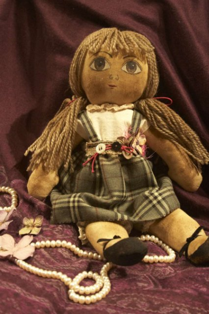 Как сделать чердачную куклу