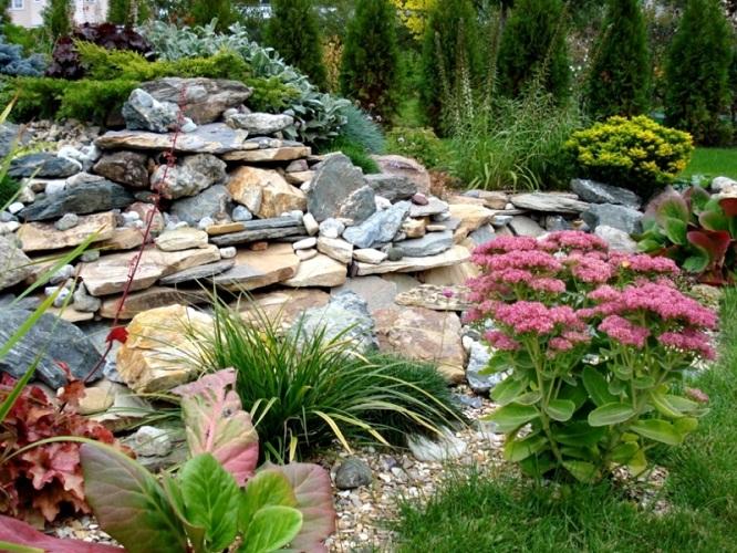 Как сделать дизайн сада