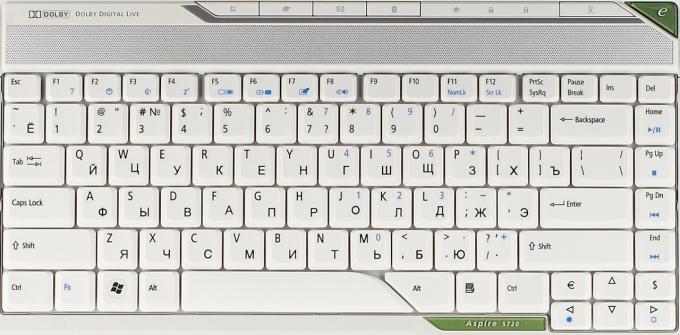 Как печатать на русской клавиатуре