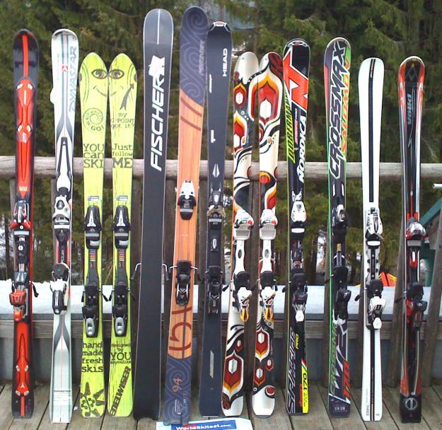 Как выбрать размер горных лыж